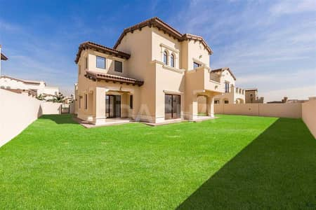 5 Bedroom Villa for Sale in Arabian Ranches 2, Dubai - Stunning Type 4 I Pool Views I Large Corner Plot