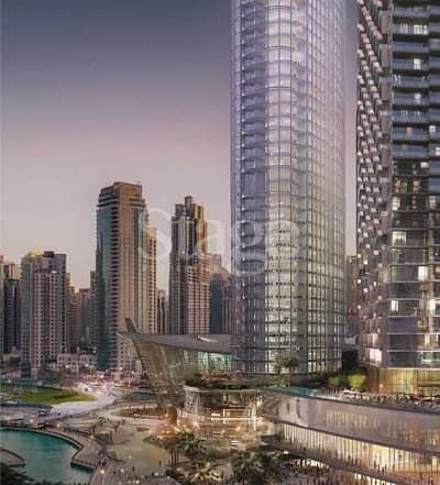 شقة 3 غرف نوم للبيع في وسط مدينة دبي، دبي - Full Fountain & Burj View | 75% in 5 years