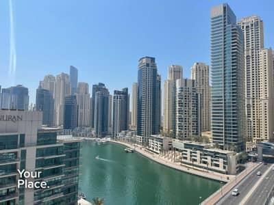 شقة 1 غرفة نوم للايجار في دبي مارينا، دبي - Huge Layout - Marina View - Multiple Cheques