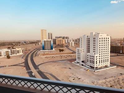 2 Bedroom Flat for Rent in Dubai Residence Complex, Dubai - Closed Kitchen   Ajmal sarah   1400Sqft   Double Balcony