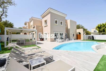 فیلا 3 غرف نوم للبيع في المرابع العربية، دبي - Exclusive Stunning | Upgraded 1E | Amazing Pool