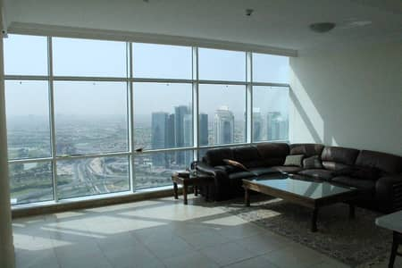Beautiful Partial Marina and Golf course view 2 Bed  Maids room in Mag 218 Tower Dubai Marina