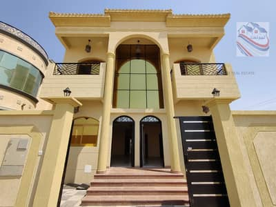 5 Bedroom Villa for Sale in Al Yasmeen, Ajman - For sale a luxury villa in the Jasmine area, freehold for all nationalities, directly on the street, close to all services