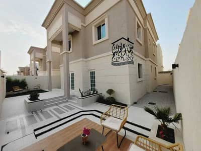 4 Bedroom Villa for Sale in Al Zahya, Ajman - Modern villa for sale, excellent price, with a very large area, without down payment, bank financing up to 25 years, and the lowest monthly deduction