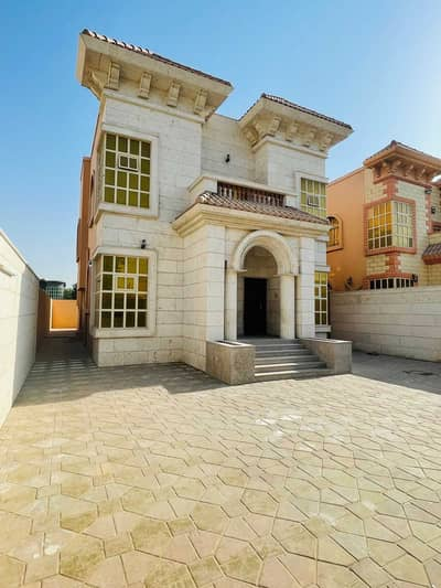 Villa for rent in Ajman, Al Rawda area, 2 second inhabitant The second piece of the street