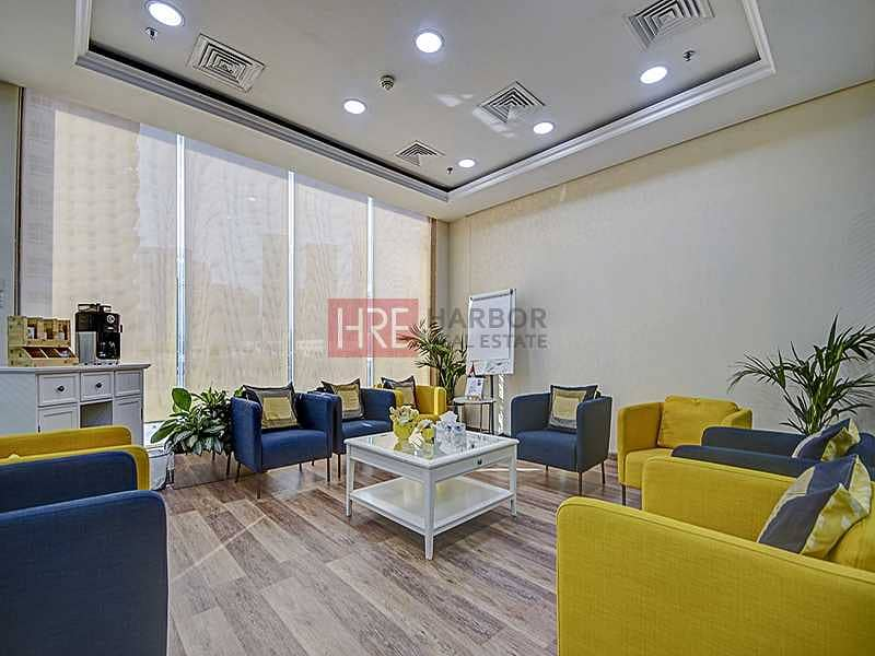 Fully Fitted Corporate Office | Versatile Layout
