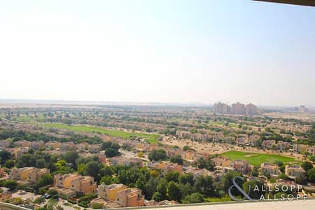 2 Bedroom Apartment for Sale in Dubai Sports City, Dubai - Rented | Perfect Golf Course View | 2 Beds