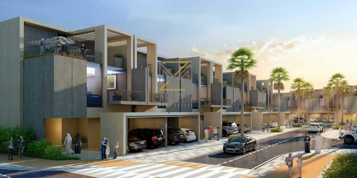 OFFER with Kitchen Appliances | 2% DLD Waiver | 2YRS Service Charge | Brand New - SEVILLA 4 Bedroom