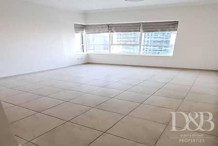 شقة 1 غرفة نوم للايجار في أبراج بحيرات الجميرا، دبي - Vacant | Unfurnished | High Floor | Great View