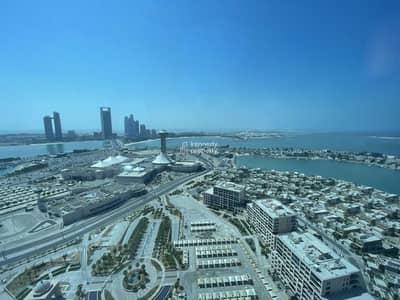 فلیٹ 3 غرف نوم للبيع في مارينا، أبوظبي - Sea View I Fully Furnished I No Commission