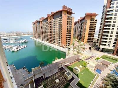 شقة 2 غرفة نوم للايجار في نخلة جميرا، دبي - Vacant  / Multi Cheques / High floor