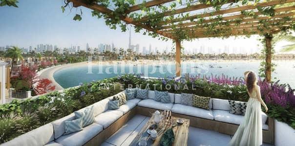 تاون هاوس 5 غرف نوم للبيع في جميرا، دبي - NEW Seafront Semi-detached 5BR Townhouse