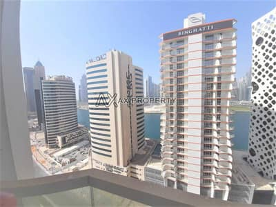 2 Bedroom Apartment for Rent in Business Bay, Dubai - Huge Apartment | High Floor | Canal View