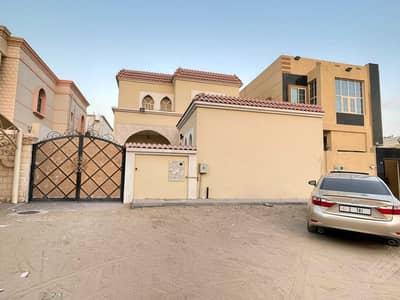 BEAUTIFULL DESIGN BRAND NEW VILLA FOR RENT 5 BEDROOMS HALL AL RAWDA 1 AJMAN RENT 75,000/- AED YEARLY