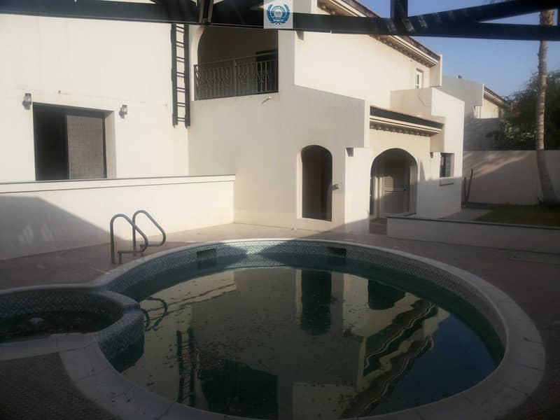 Facing Park, Private Pool, Stand Alone Four Bedroom With All Masters Bedrooms,  Huge Garden  In Al Nakhilat,  Sharjah