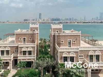 بنتهاوس 4 غرف نوم للبيع في نخلة جميرا، دبي - Furnished   Sea + Marina View   Private Pool
