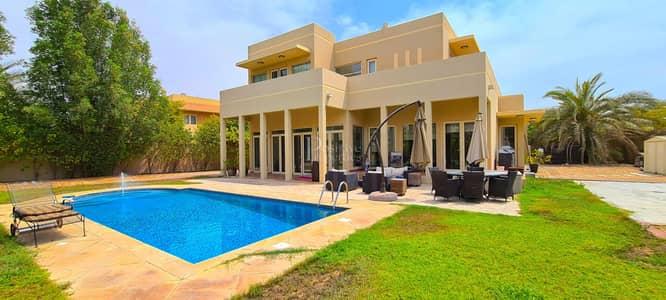 فیلا 5 غرف نوم للايجار في المرابع العربية، دبي - EXCLUSIVE   Private Pool & Basketball court   AMC