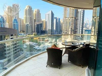 فلیٹ 3 غرف نوم للايجار في دبي مارينا، دبي - Marina Marina . . . Stunning 3 Bed Apartment