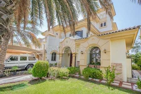 6 Bedroom Villa for Rent in Palm Jumeirah, Dubai - 6BR Atrium Entry G+2 | Atlantis View | Furnished