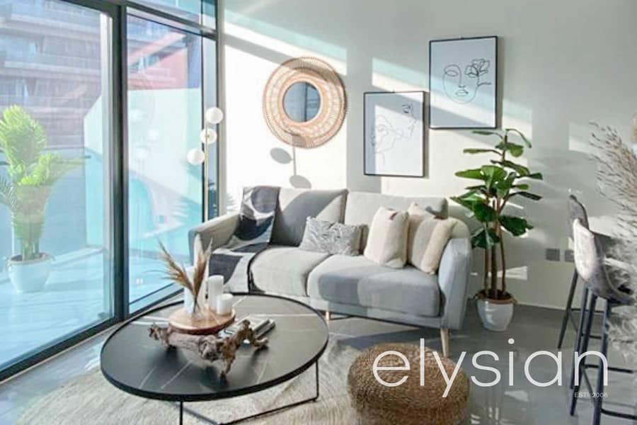 Furnished 1 Bedroom | High Floor | Road View