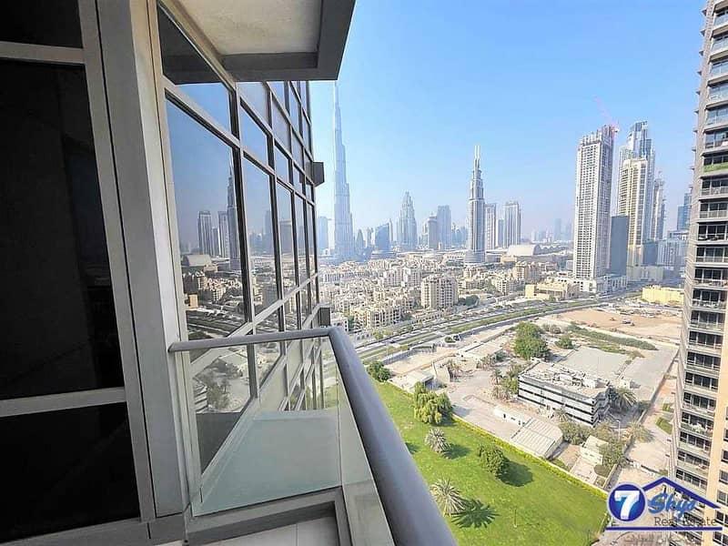 Partial Burj Khalifa View 1BHK   South Ridge Tower