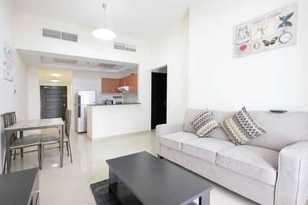 Furnished 1BHK in Concord Tower JLT, Vacant, Lake View S. Price AED:625K net