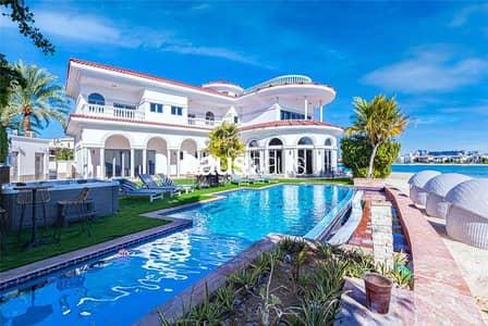 فیلا 7 غرف نوم للايجار في نخلة جميرا، دبي - Tip Villa   7BR   Super Prime   Vacant