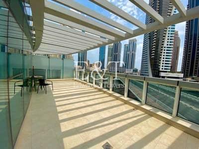 شقة 2 غرفة نوم للبيع في دبي مارينا، دبي - Exclusive | Large Terrace | 2 Bed | Sqft 2