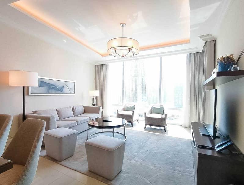 2 Luxurious 2BR Burj Khalifa & Fountain View