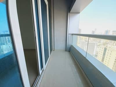 2 Bedroom Apartment for Rent in Al Taawun, Sharjah - No Commission, spacious 2bhk with balcony, wardrobes, facilities in al Taawun area rent 35k in 4/6 cheqs