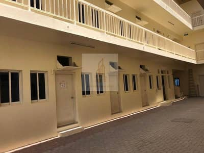 سكن عمال  للايجار في محيصنة، دبي - Great Offer - Labor Accommodations AT AED 1600/- per room per Month