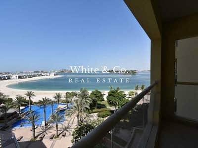 1 Bedroom Flat for Rent in Palm Jumeirah, Dubai - Full Sea View | Beach Access | High Floor