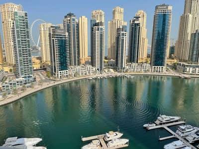 شقة 3 غرف نوم للايجار في دبي مارينا، دبي - شقة في شراع المارينا دبي مارينا 3 غرف 160000 درهم - 5418102