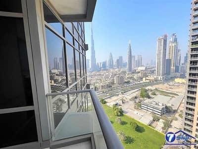 شقة 1 غرفة نوم للبيع في وسط مدينة دبي، دبي - Burj Khalifa View | Upgraded | Vacant