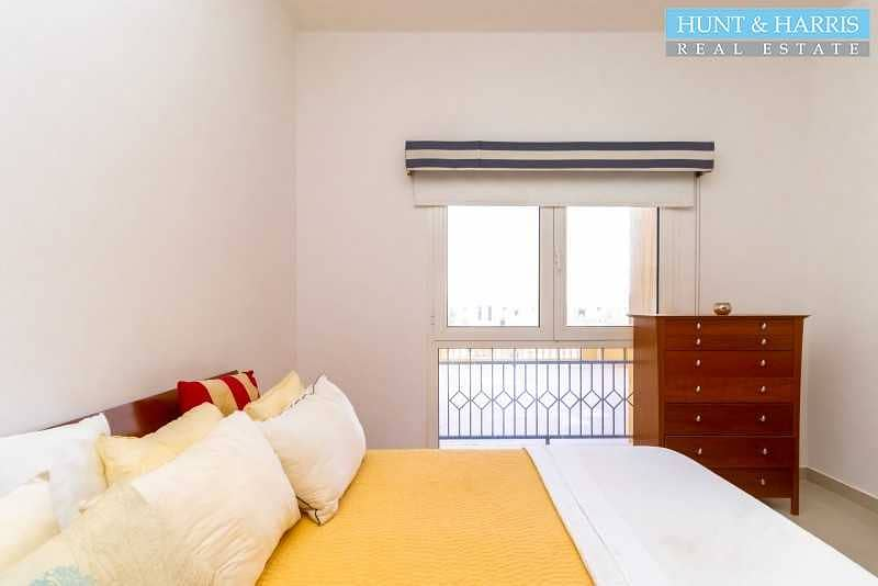2 Furnished 1 Bedroom - Lagoon View - Gated Community