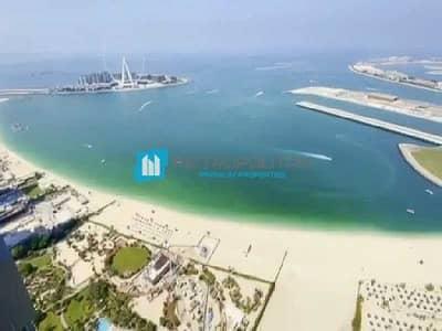 شقة 4 غرف نوم للبيع في جميرا بيتش ريزيدنس، دبي - Incredible Sea View| Spacious Lay Out| High Floor