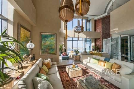 4 Bedroom Penthouse for Sale in Dubai Marina, Dubai - Fully Furnished | Upgraded | 7 Balconies