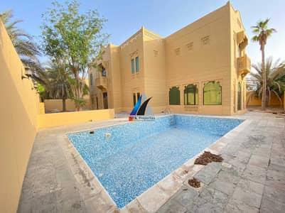 6 Bedroom Villa for Rent in Jumeirah, Dubai - LUXURIOUS  6 B/R + MULHAQ  l FULLY INDEP l PVT SWIMMING POOL & GARDEN