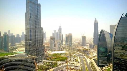 Studio for Sale in Downtown Dubai, Dubai - Vacant Studio w/ Full Burj Khalifa View.