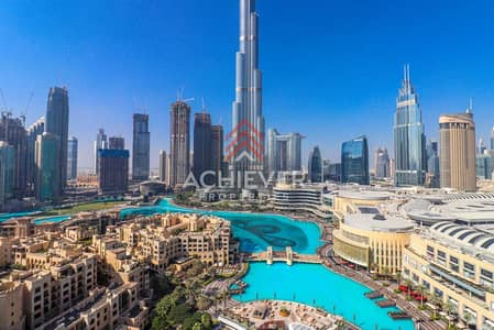 فلیٹ 2 غرفة نوم للايجار في وسط مدينة دبي، دبي - Luxurious 2 BR   Burj Fountain View   04 Series