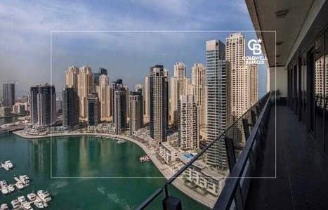 3 Bedroom Flat for Sale in Dubai Marina, Dubai - Spacious and Apartment with Full Marina View