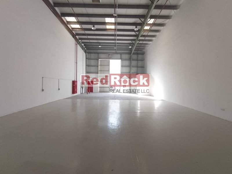2187 Sqft Warehouse with 44KW Power in Jebel Ali
