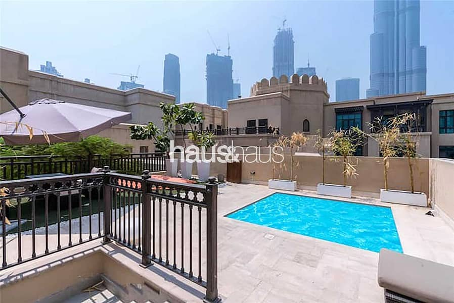 HIGH ROI |Fully upgraded Penthouse | Private pool