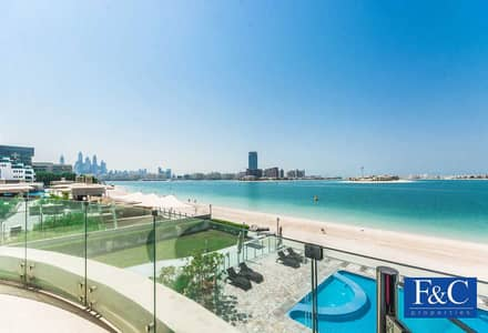 2 Bedroom Flat for Sale in Palm Jumeirah, Dubai - Full Sea and Pool View   Private Beach   Vacant
