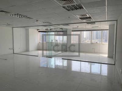 مکتب  للايجار في أبراج بحيرات الجميرا، دبي - Fitted and Partitioned | Office in HDS Tower