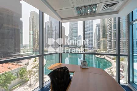 مکتب  للبيع في أبراج بحيرات الجميرا، دبي - DMCC Freezone License   Fitted   Low Floor