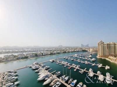 شقة 3 غرف نوم للايجار في نخلة جميرا، دبي - 3 Bedrooms | Vacant | Amazing Sea Views