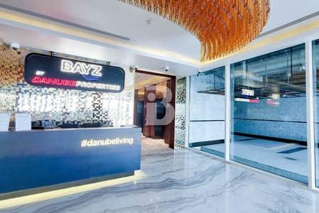 استوديو  للايجار في الخليج التجاري، دبي - Luxury Studio | Full Burj Khalifa View
