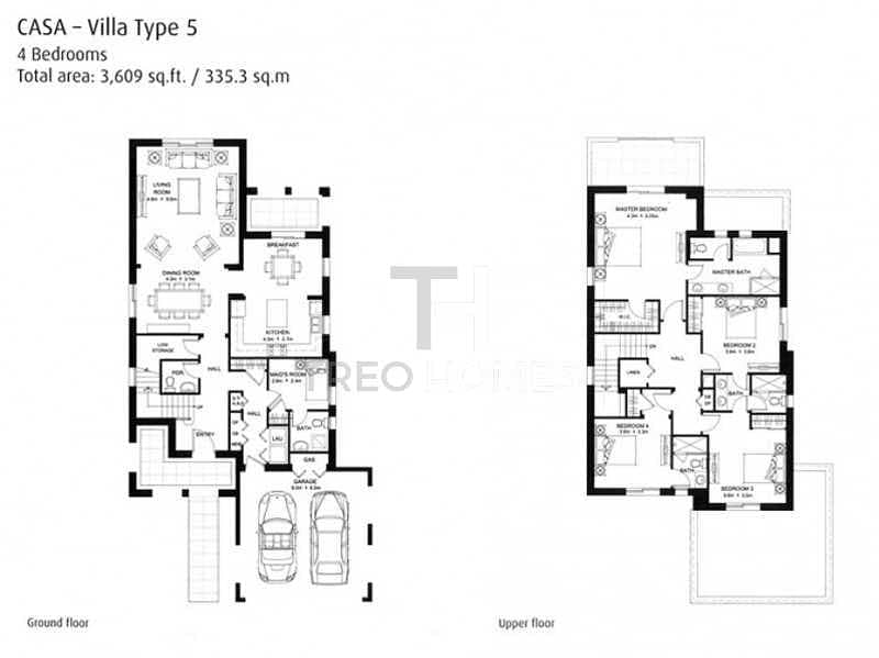 21 Single Row View | Type 5 | 4Beds+Maid