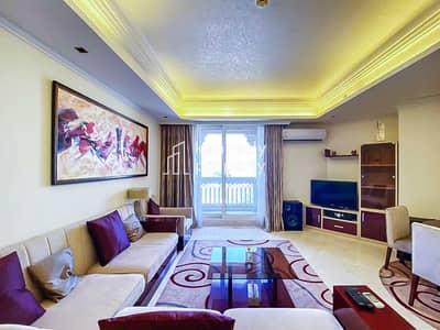 فلیٹ 2 غرفة نوم للايجار في نخلة جميرا، دبي - Stunning Sea View | High Floor | Bills Included